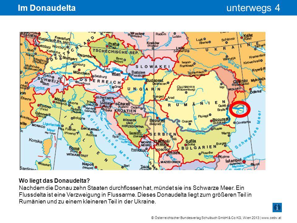 Im Donaudelta Wo liegt das Donaudelta