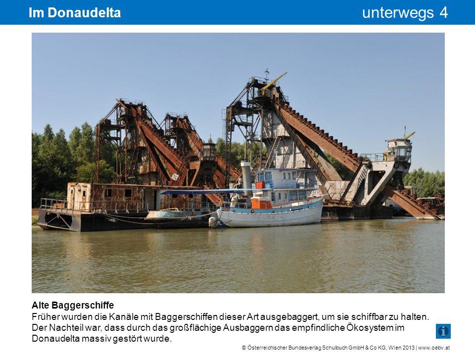 Im Donaudelta Alte Baggerschiffe