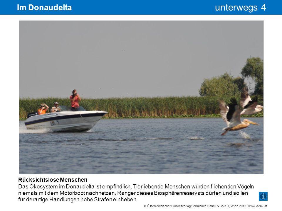 Im Donaudelta Rücksichtslose Menschen