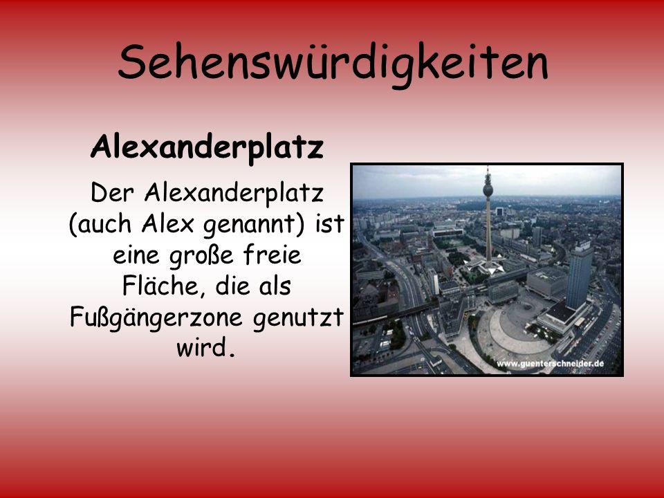 Sehenswürdigkeiten Alexanderplatz