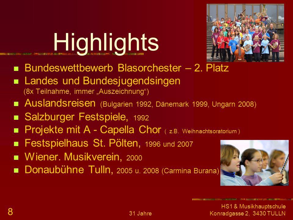 Highlights Bundeswettbewerb Blasorchester – 2. Platz