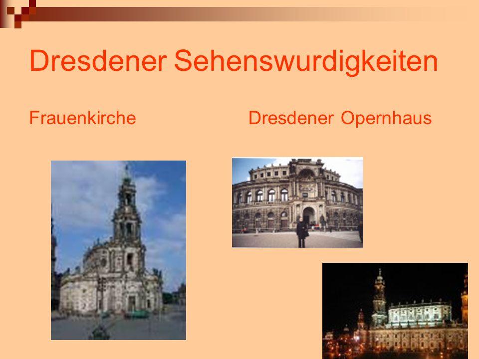 Dresdener Sehenswurdigkeiten