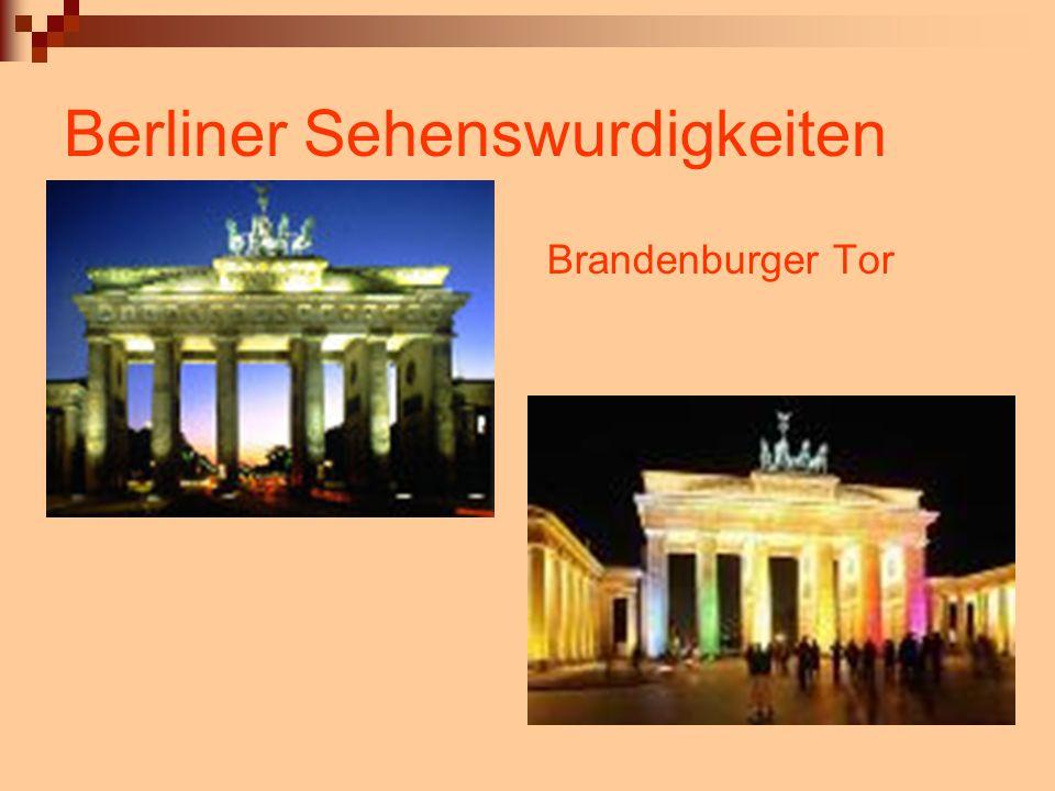 Berliner Sehenswurdigkeiten