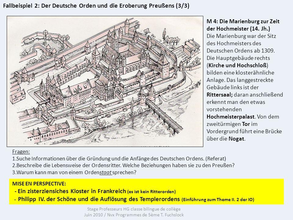 Fallbeispiel 2: Der Deutsche Orden und die Eroberung Preußens (3/3)
