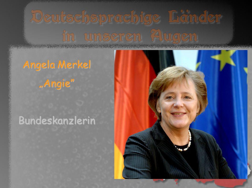 "Angela Merkel ""Angie Bundeskanzlerin"