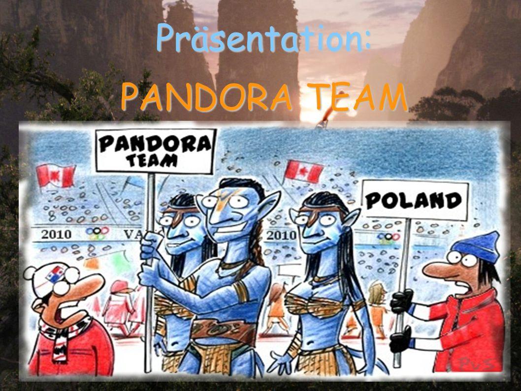 Präsentation: PANDORA TEAM