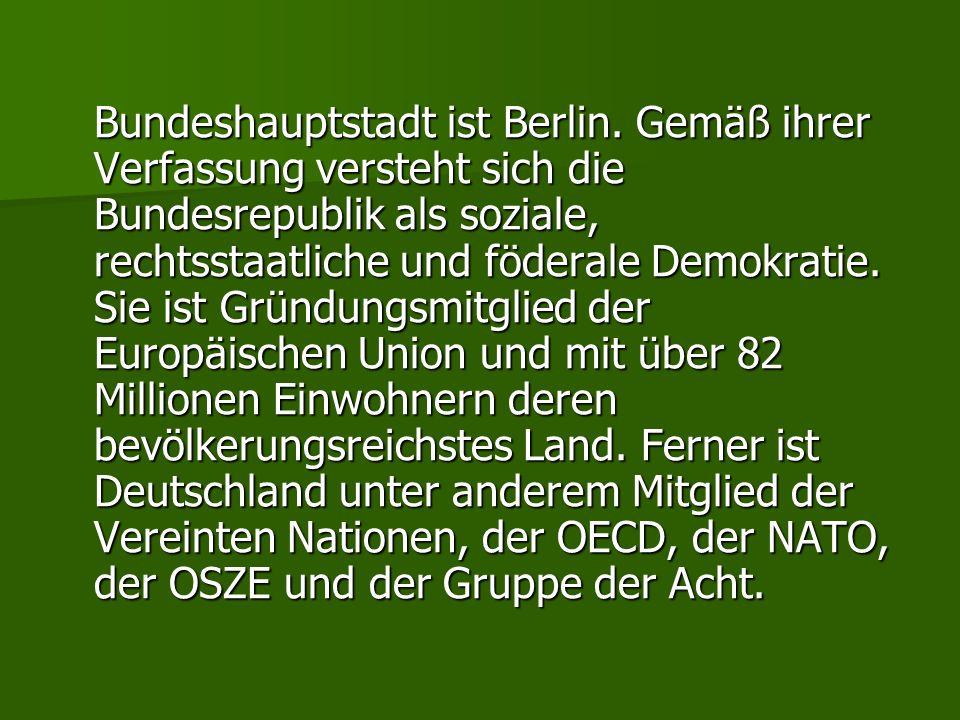 Bundeshauptstadt ist Berlin
