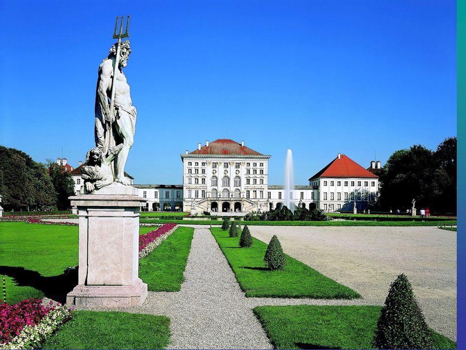 Schloss Nymphenburg Schloss Nymphenburg liegt im Westen von München, Neuhausen-Nymphenburg.