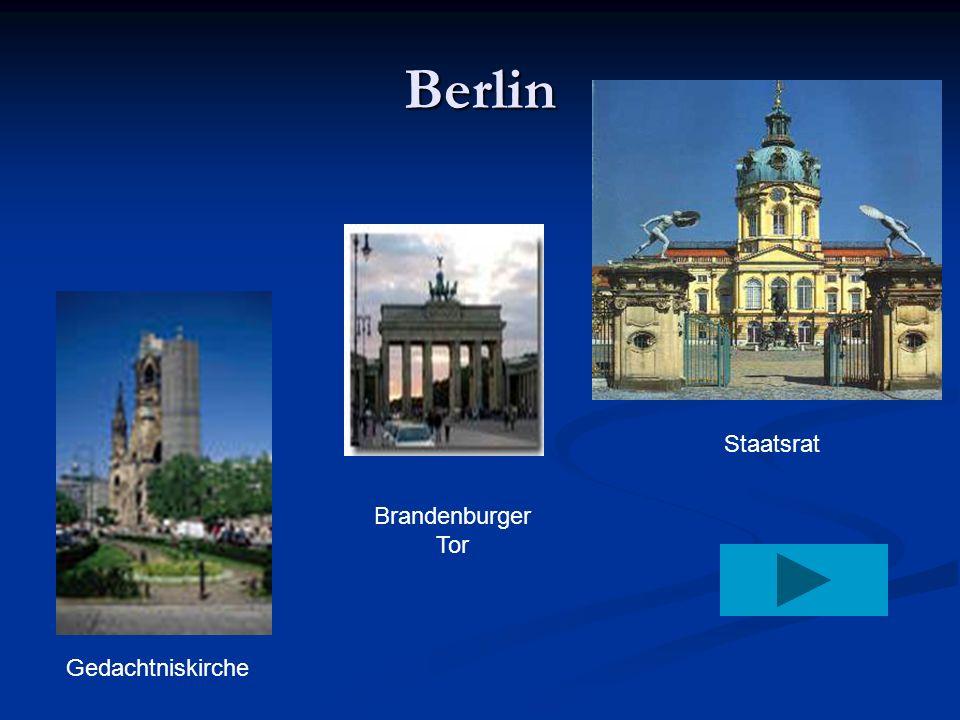 Berlin Staatsrat Brandenburger Tor Gedachtniskirche