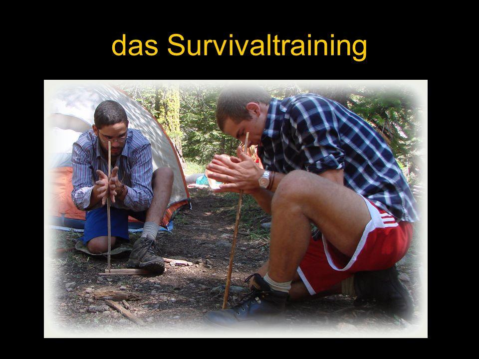 das Survivaltraining