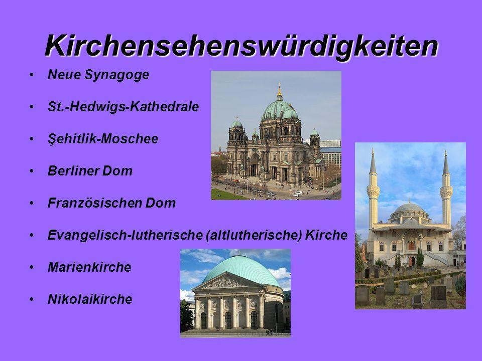 Kirchensehenswürdigkeiten