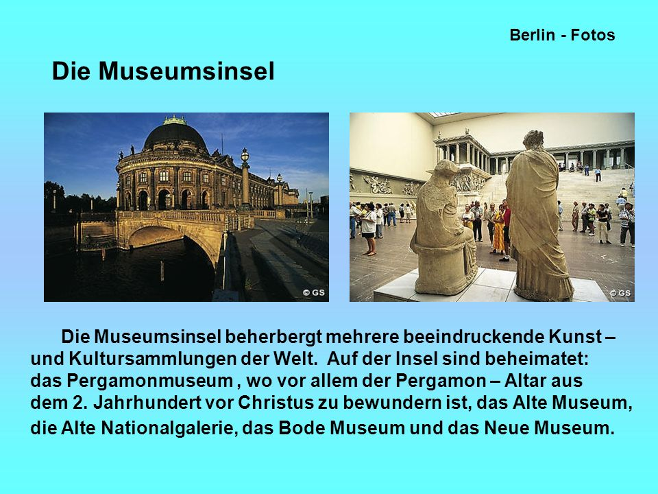 Berlin - Fotos Die Museumsinsel.