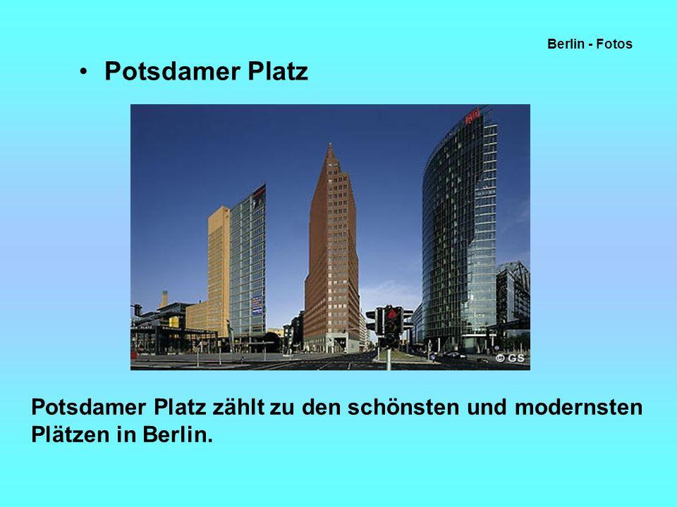 Berlin - Fotos Potsdamer Platz.