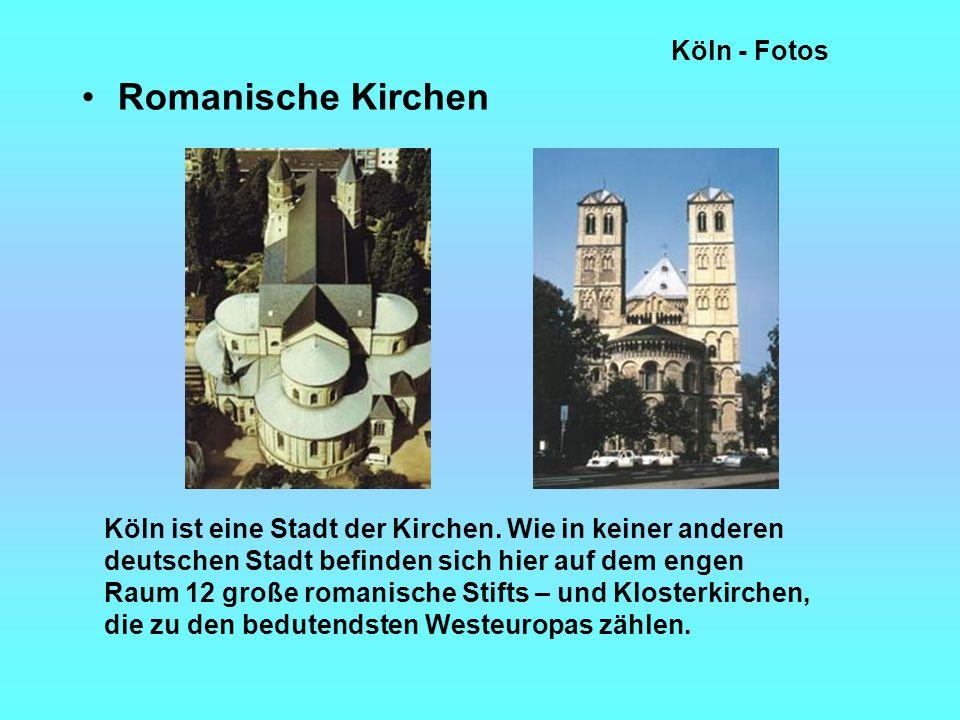 Romanische Kirchen Köln - Fotos