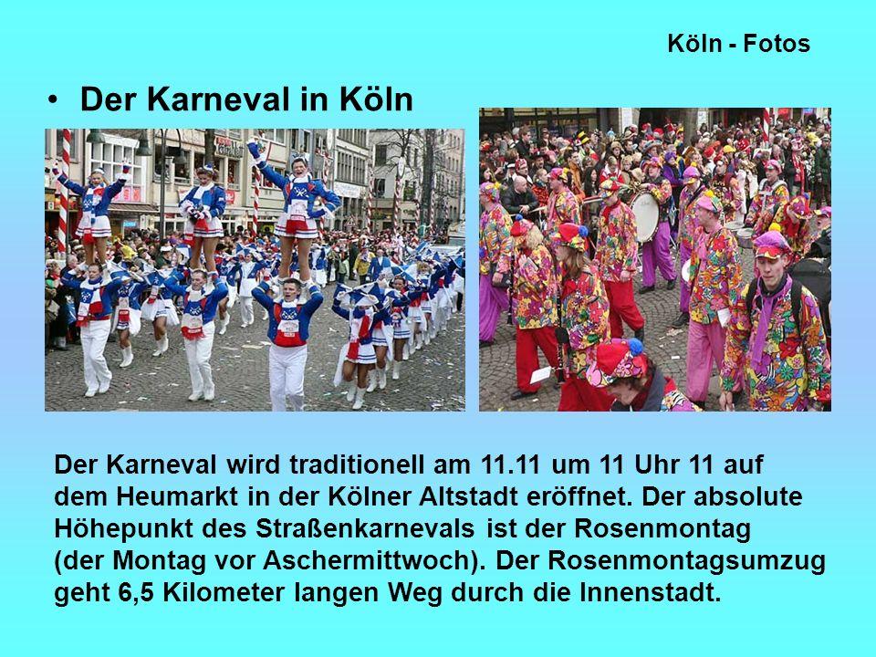 Köln - Fotos Der Karneval in Köln.