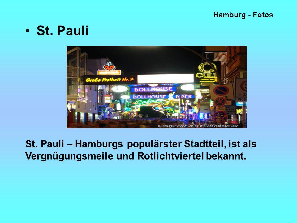 Hamburg - Fotos St. Pauli. St.