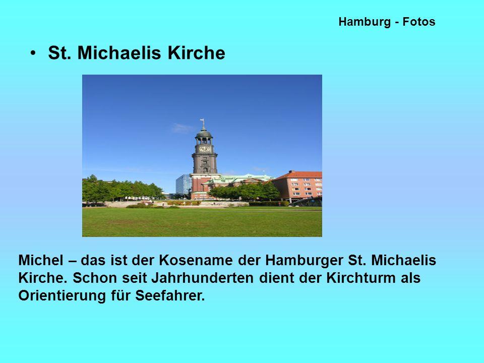 Hamburg - Fotos St. Michaelis Kirche.