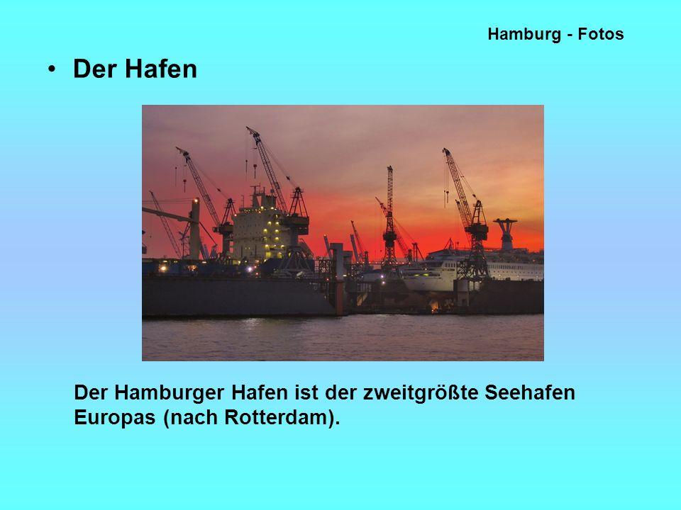 Hamburg - Fotos Der Hafen.