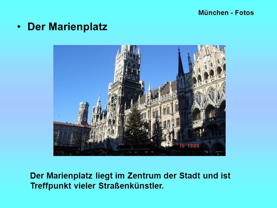 München - Fotos Der Marienplatz.