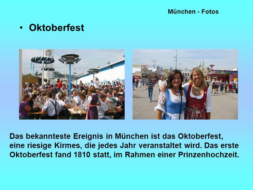 München - Fotos Oktoberfest.