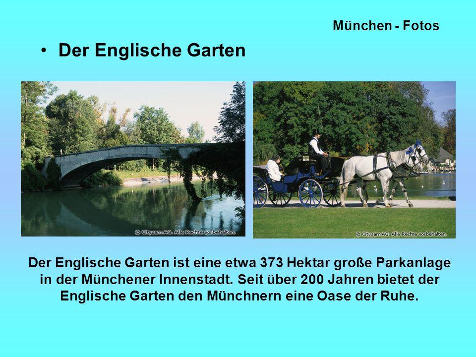 München - Fotos Der Englische Garten.