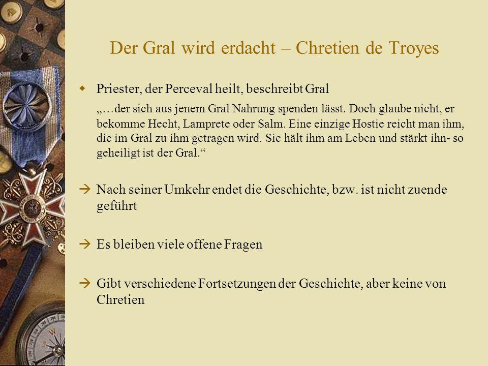 Der Gral wird erdacht – Chretien de Troyes