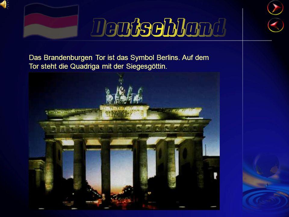 Das Brandenburgen Tor ist das Symbol Berlins