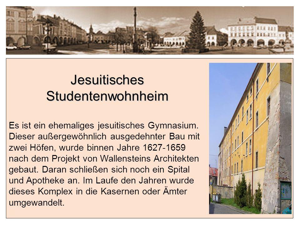 Jesuitisches Studentenwohnheim