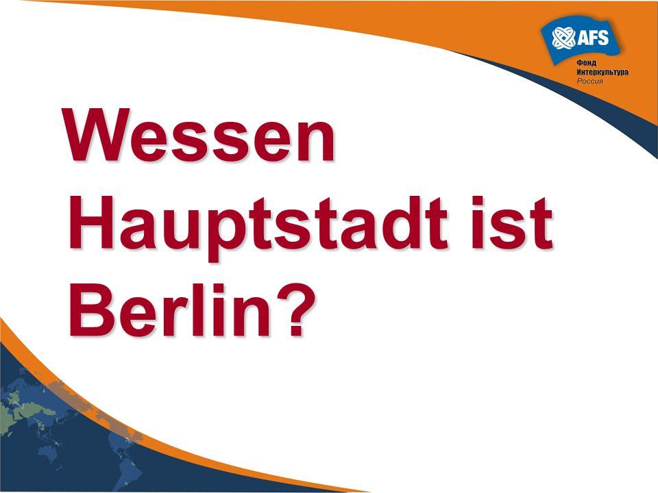 Wessen Hauptstadt ist Berlin