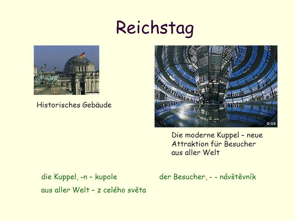 Reichstag Historisches Gebäude