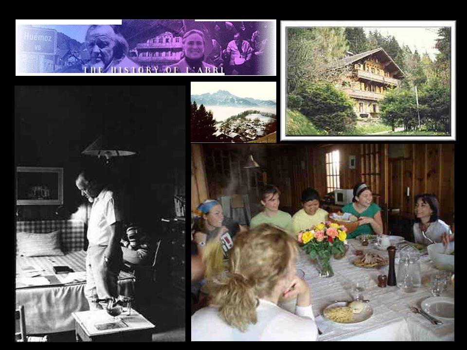 Nicht weit Weg von hier in der Schweiz, in Huemoz zwischen Ollon und Villars im Kanton Vaduz, lebte in den 50er bis 80er Jahren Francis Schaeffer.