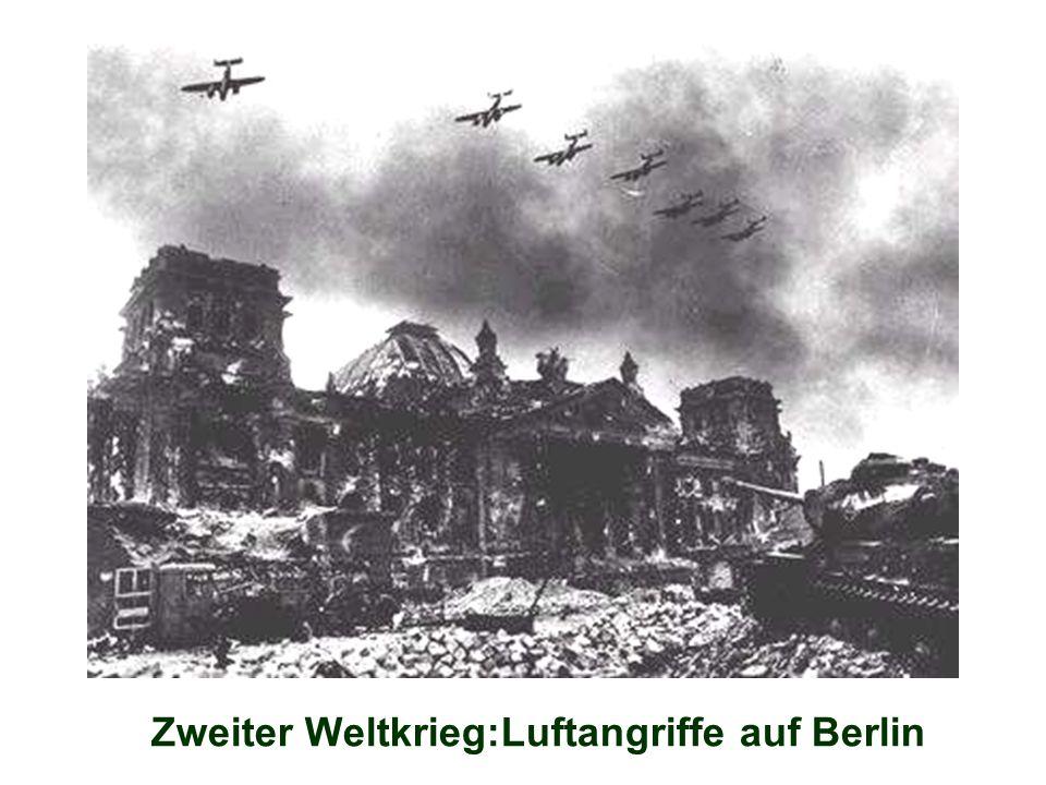 Zweiter Weltkrieg:Luftangriffe auf Berlin