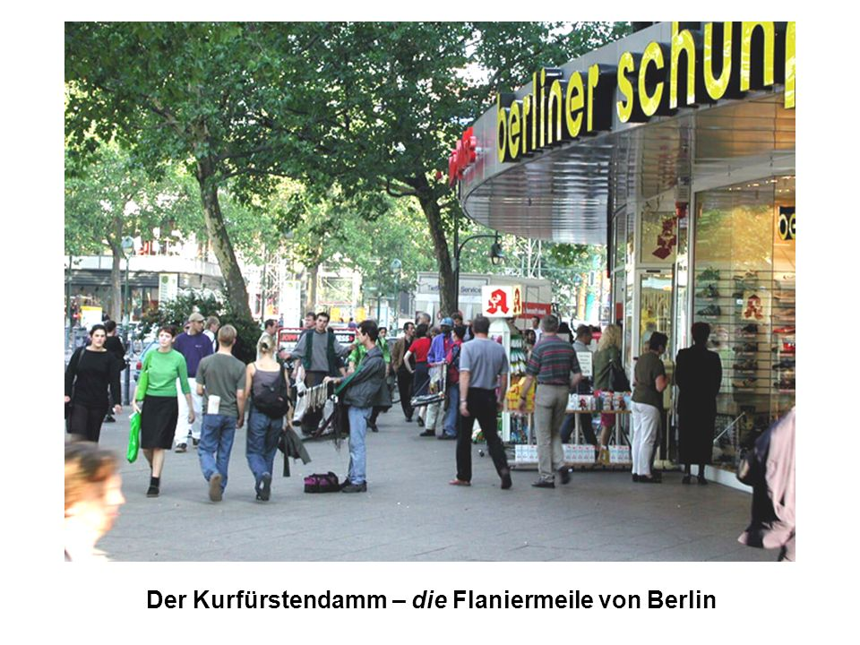 Der Kurfürstendamm – die Flaniermeile von Berlin