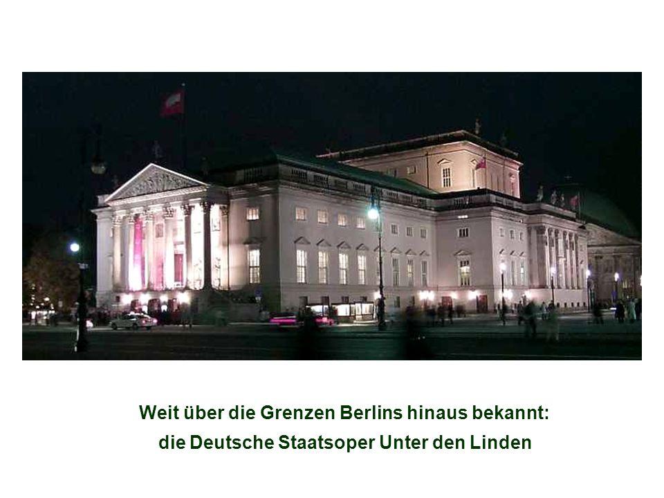 die Deutsche Staatsoper Unter den Linden