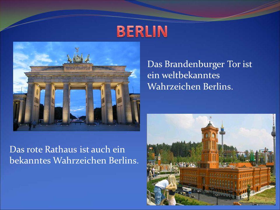 Das Brandenburger Tor ist ein weltbekanntes Wahrzeichen Berlins.
