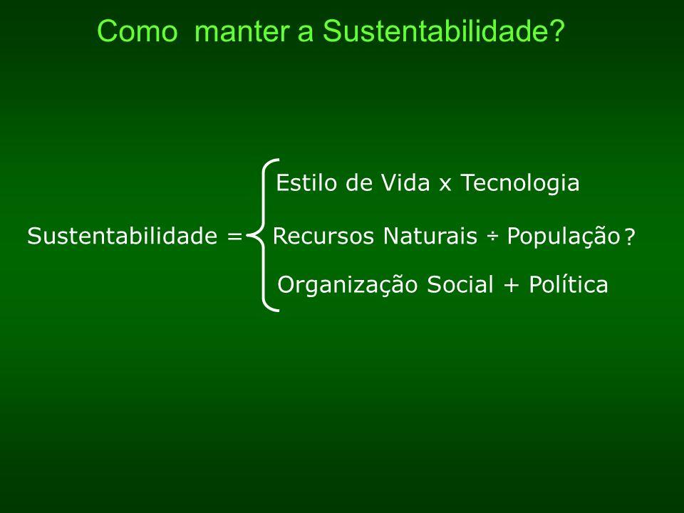 Como manter a Sustentabilidade
