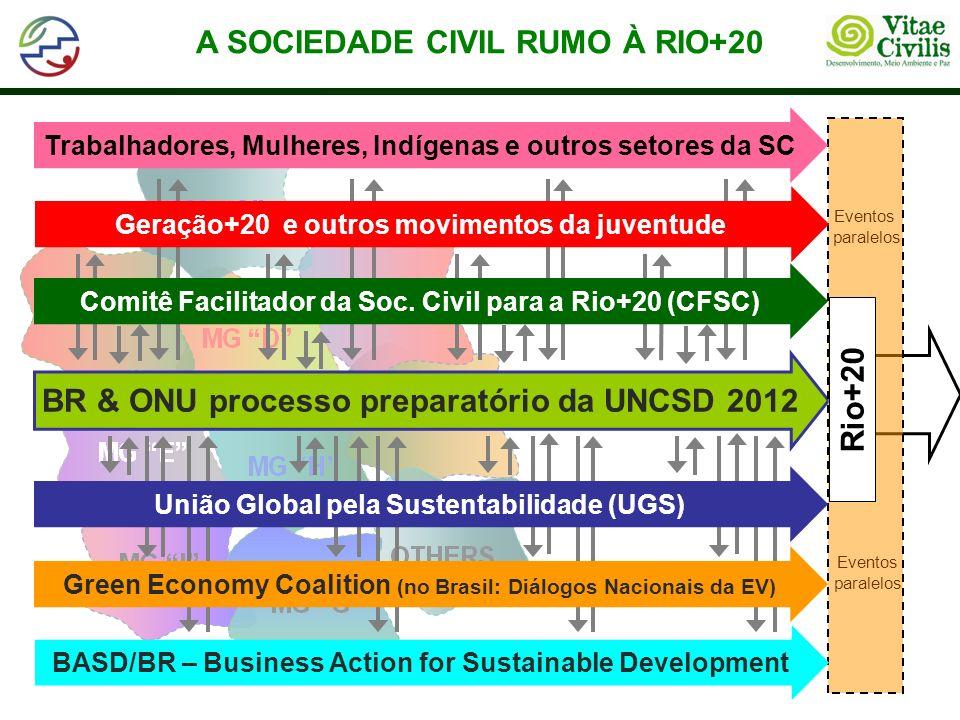 A SOCIEDADE CIVIL RUMO À RIO+20