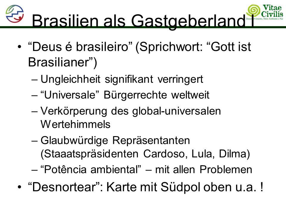 Brasilien als Gastgeberland I
