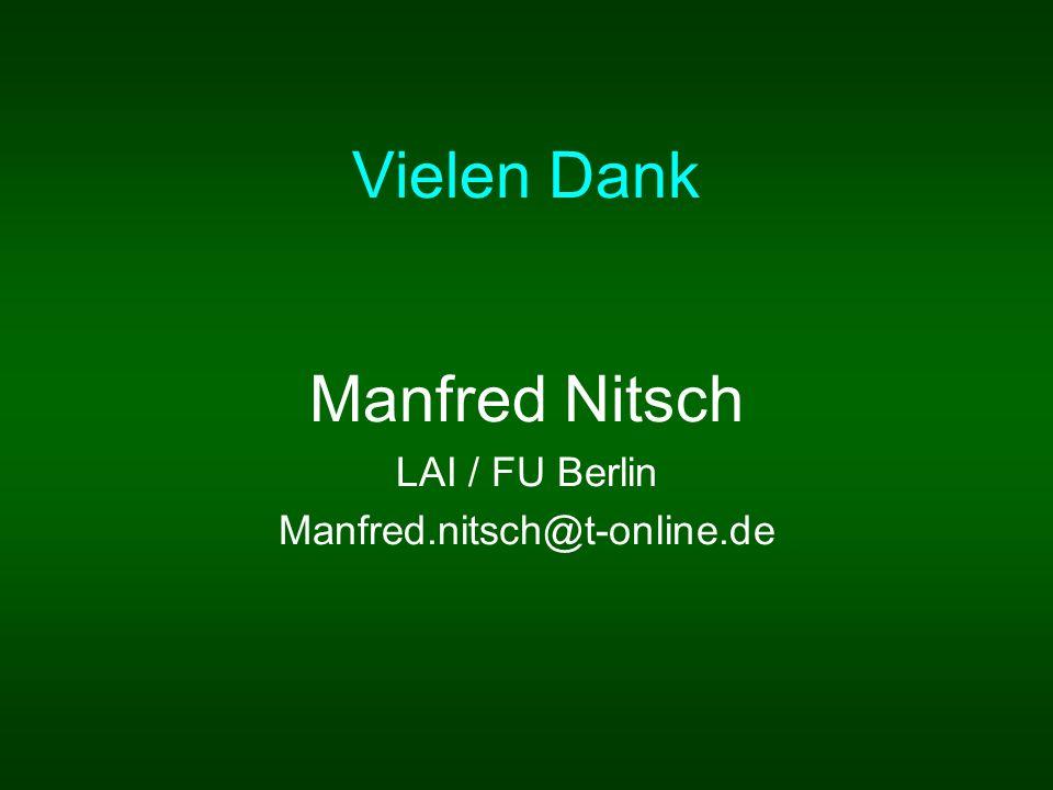 Manfred Nitsch LAI / FU Berlin Manfred.nitsch@t-online.de
