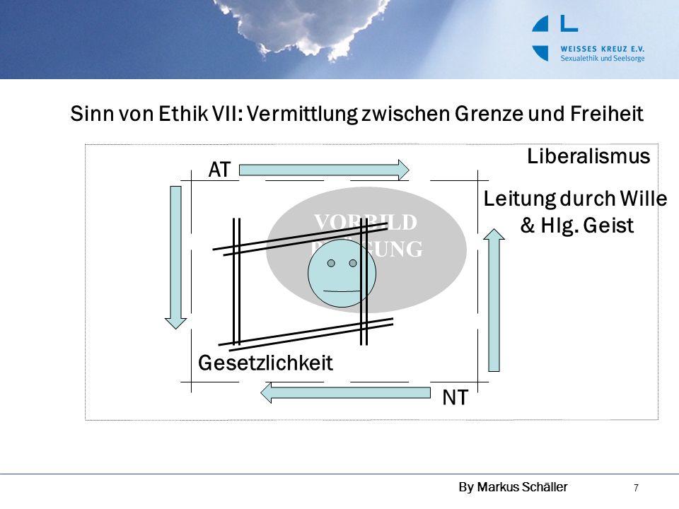 Sinn von Ethik VII: Vermittlung zwischen Grenze und Freiheit