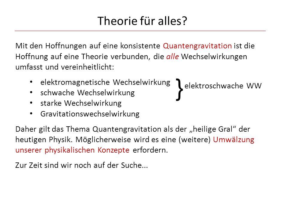 Theorie für alles