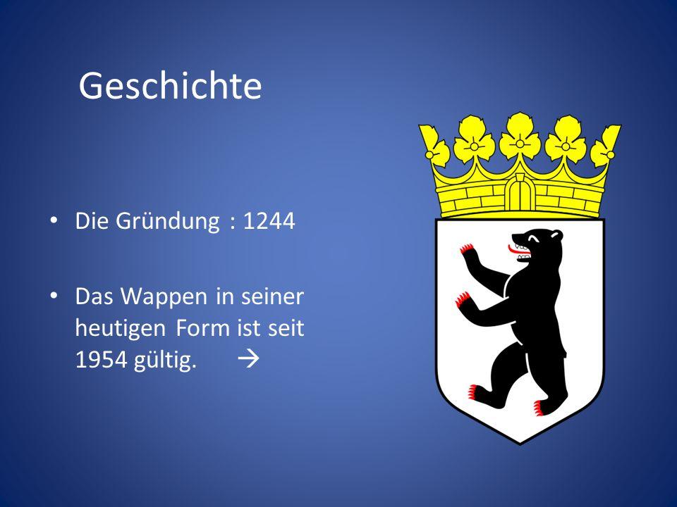 Geschichte Die Gründung : 1244