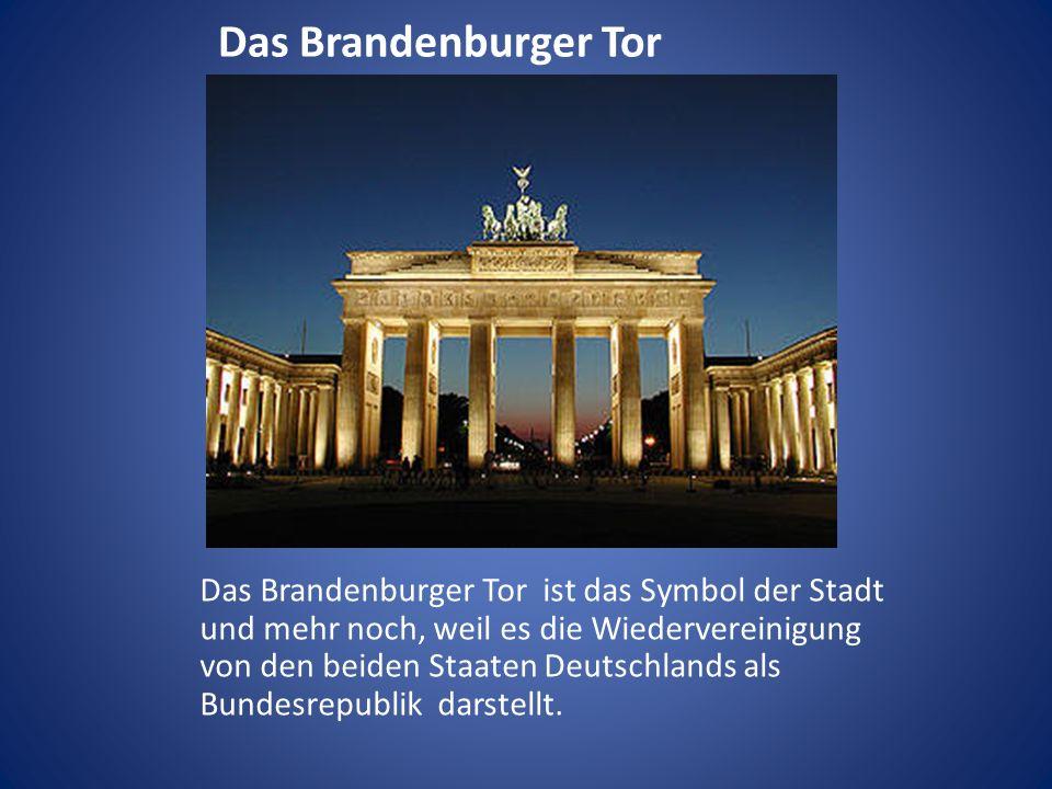 Das Brandenburger Tor