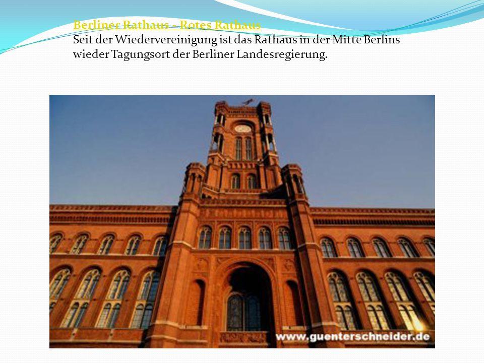 Berliner Rathaus - Rotes Rathaus