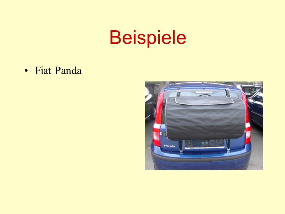 Beispiele Fiat Panda