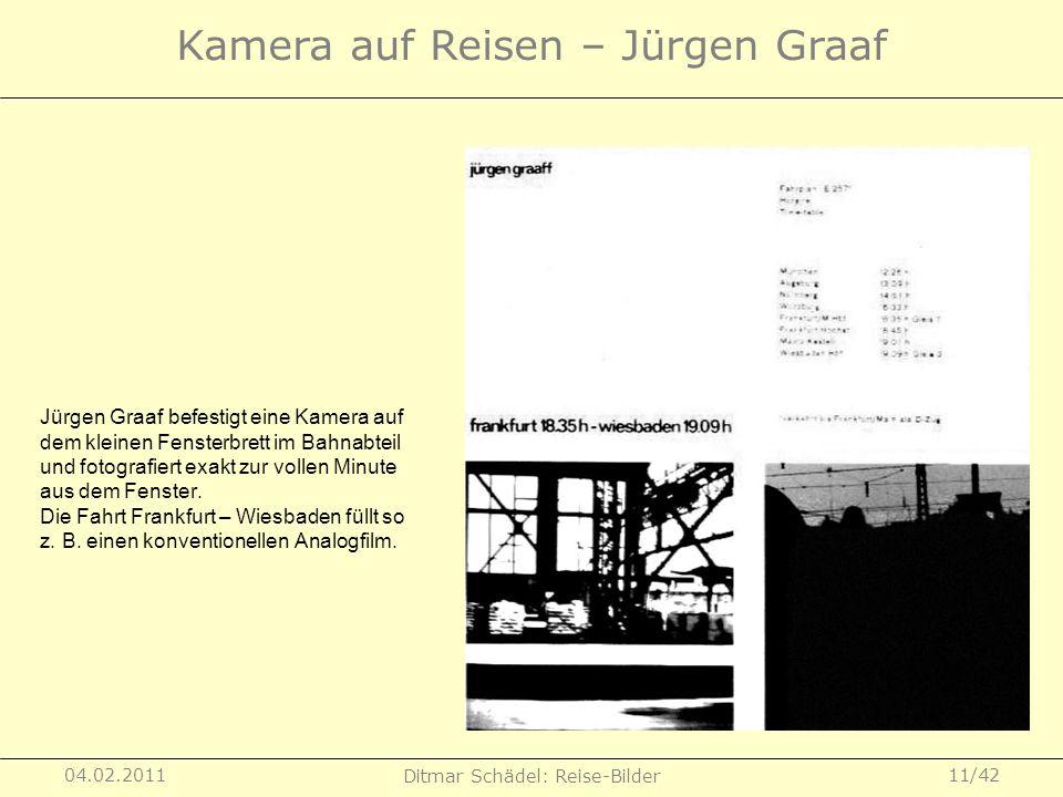 Kamera auf Reisen – Jürgen Graaf