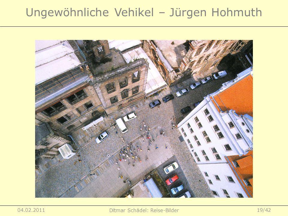 Ungewöhnliche Vehikel – Jürgen Hohmuth