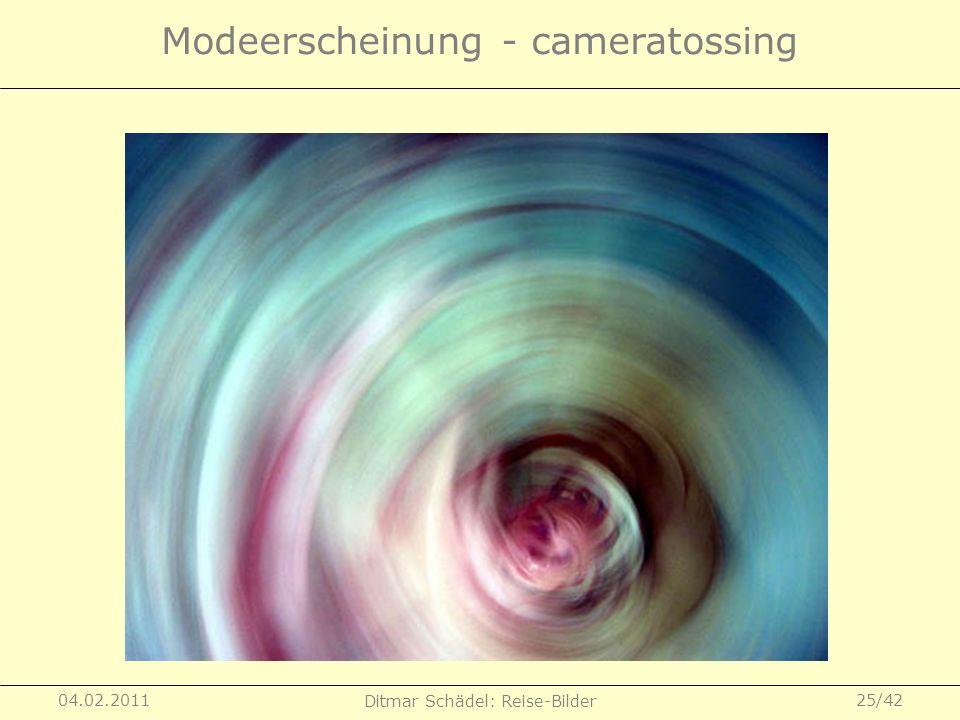 Modeerscheinung - cameratossing