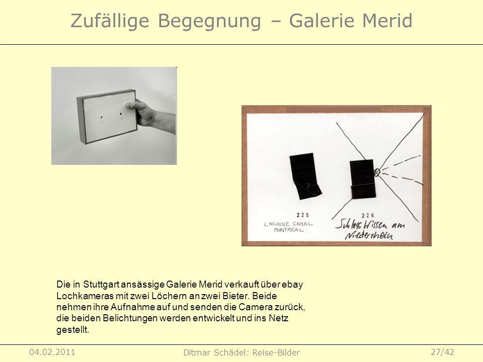 Zufällige Begegnung – Galerie Merid