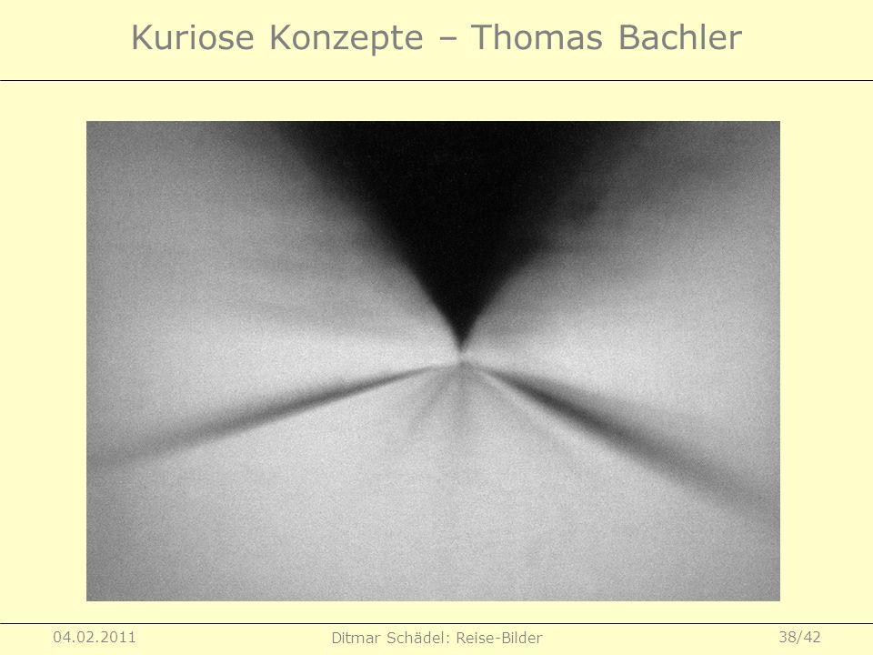 Kuriose Konzepte – Thomas Bachler